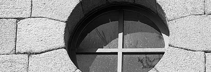 fenêtre pvc arrondie